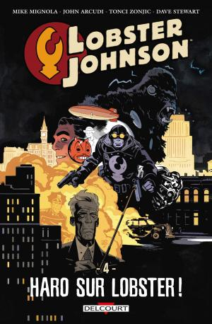Lobster Johnson 4 TPB hardcover (cartonnée)