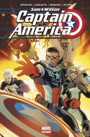 Sam Wilson - Captain America 4 TPB Hardcover - Marvel Now!