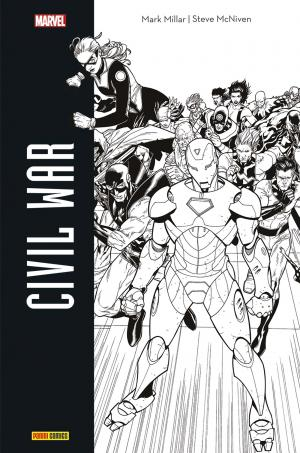 Civil War édition TPB Hardcover - Edition N et B