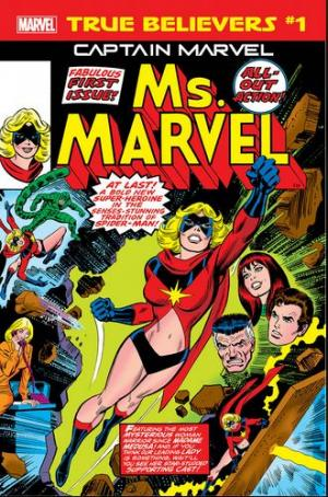 True Believers - Captain Marvel - Ms. Marvel édition Issue (2019)