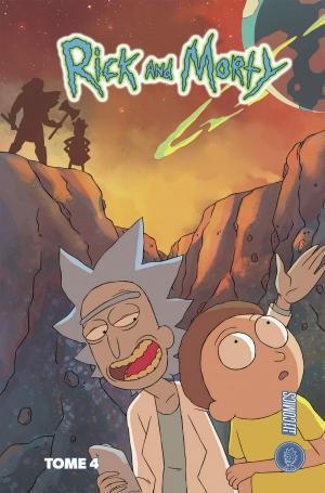 Rick et Morty 4 TPB hardcover (cartonnée)