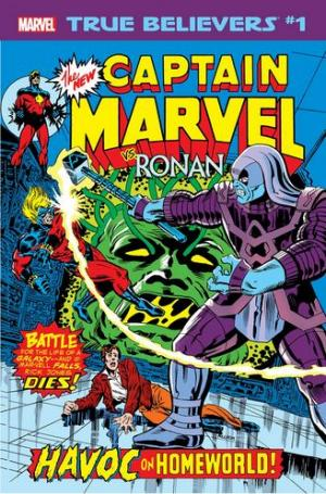 True Believers - Captain Marvel Vs. Ronan édition Issue (2019)
