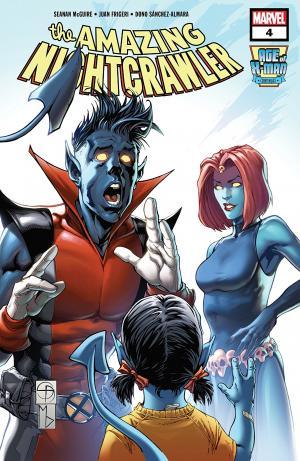 Age of X-Man - The Amazing Nightcrawler 4 Issues (2019)