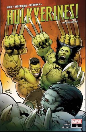 Hulkverines 3 Issues (2019)