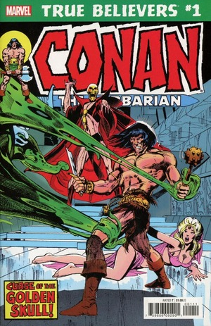 True believers - Conan the barbarian - Curse of the golden skull édition issues