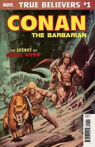 True believers - Conan the barbarian - The secret of skull river édition issues