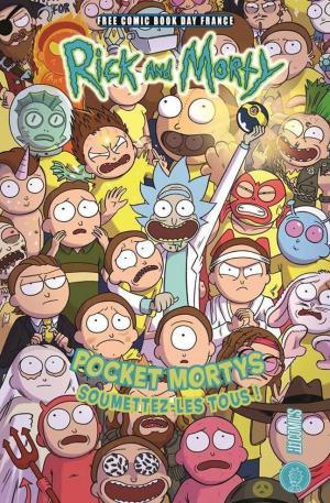 Free Comic Book Day France 2019 – Hi Comics - Rick And Morty - Pocket Mortys - Soumettez-les tous !  Kiosque (2019)