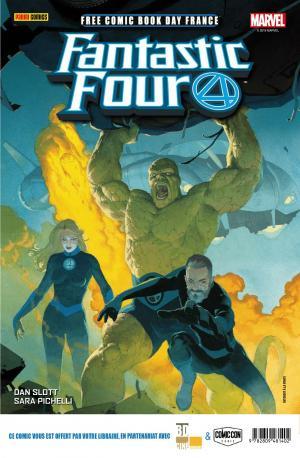 Free Comic Book Day France 2019 - Panini Comics - Fantastic Four / Conan  Kiosque (2019)