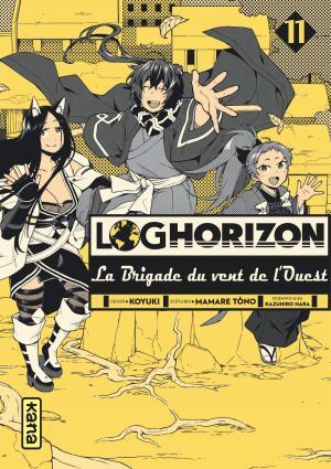 Log Horizon - La brigade du vent de l'Ouest 11 Simple