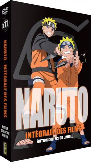 Naruto / Naruto Shippuden - Films 1 - Edition Collector Limitée - Coffret A4 DVD