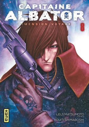 couverture, jaquette Capitaine Albator : Dimension voyage 8  (kana)