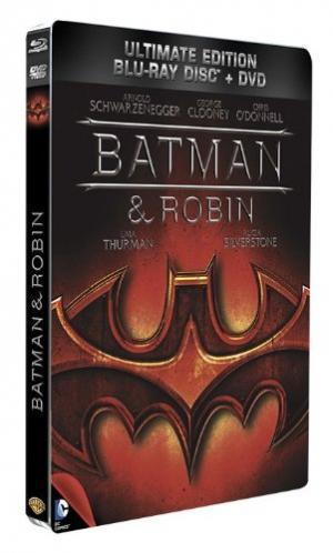 Batman & Robin édition Ultimate Edition Steelbook