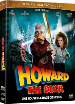 Howard The Duck édition Combo Blu Ray + DVD