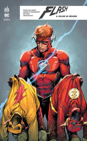 The Flash - Rebirth 5 TPB hardcover (cartonnée)