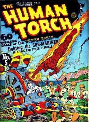Human Torch # 5