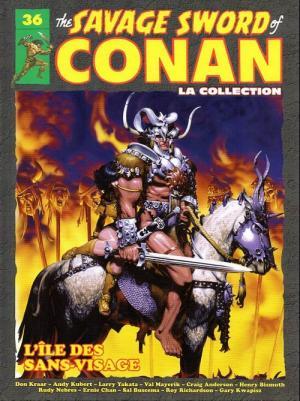 The Savage Sword of Conan 36 TPB hardcover (cartonnée)