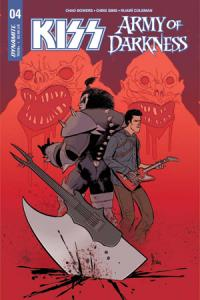KISS / Army of Darkness # 4 Issues (2018)