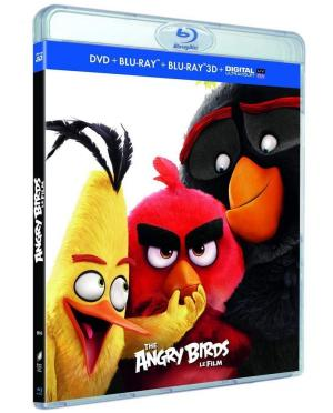 Angry Birds - Le Film édition combo