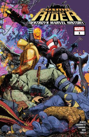 Cosmic Ghost Rider Destroys Marvel History # 1 Issues (2019)