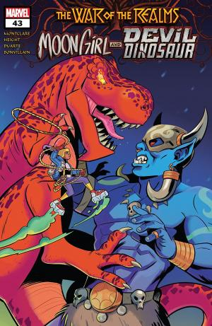 Moon Girl and Devil Dinosaur 43 Issues (2015 - Ongoing)