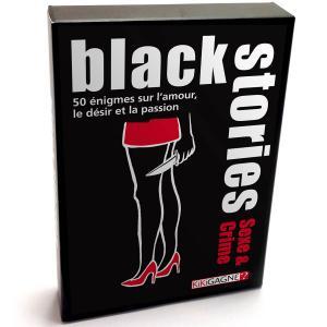 Black Stories : sexe et crime édition simple