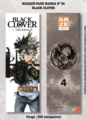 Marque-pages Manga Luxe Bulle en Stock # 4