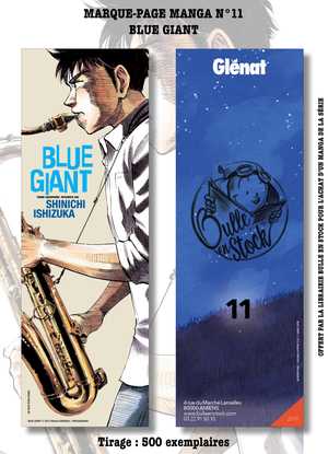 Marque-pages Manga Luxe Bulle en Stock 11 - n°11 Blue Giant