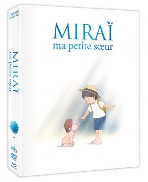 Miraï, ma petite soeur édition Collector - Combo Blu-ray + DVD