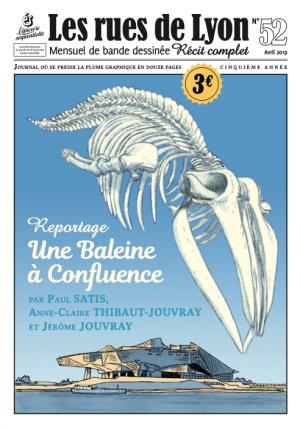 Les rues de Lyon 52 - Une Baleine à Confluence