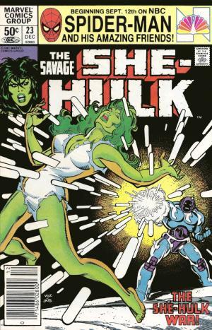 The Savage She-Hulk # 23 Issues (1980 - 1982)