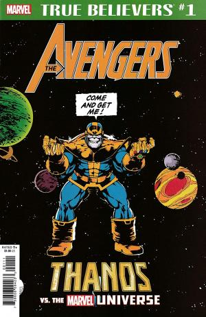 True Believers - Avengers - Thanos Vs. The Marvel Universe édition Issue (2019)
