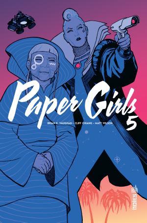 Paper Girls 5 TPB hardcover (cartonnée)