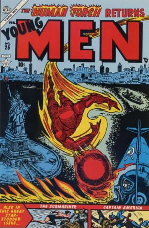 Young Men # 25 Issues (1950 - 1954)
