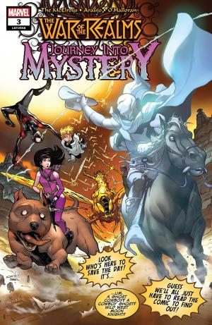 War of the Realms - Journey Into Mystery # 3 Issues (2019)