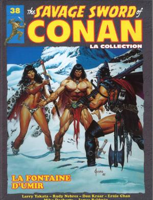 The Savage Sword of Conan 38 TPB hardcover (cartonnée)