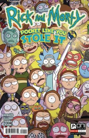 Rick and Morty - Pocket Like You Stole It # 1 Issues (2017)