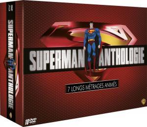 Superman Anthologie - 7 longs métrages animés édition simple