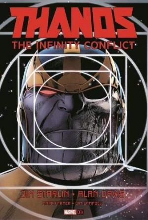 Thanos - Le conflit de l'infini # 1 TPB hardcover (cartonnée)