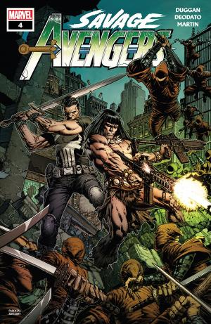 Savage Avengers # 4 Issues (2019)