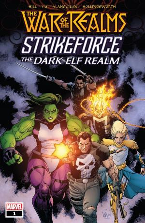 War Of The Realms Strikeforce - The Dark Elf Realm # 1 Issue (2019)
