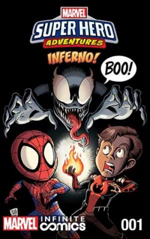 Marvel Super Hero Adventures - Inferno édition Issues - Infinite Comics (2019)