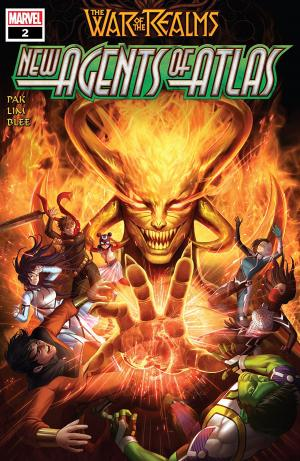 War of the Realms - New Agents of Atlas 2 Issues (2019)