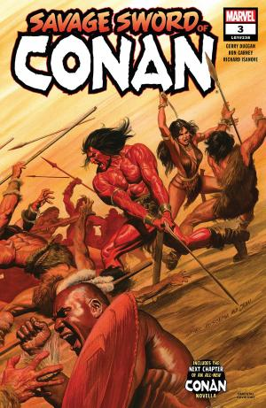 The Savage Sword of Conan # 3 Savage Sword of Conan - Issues (2019 - Ongoing)