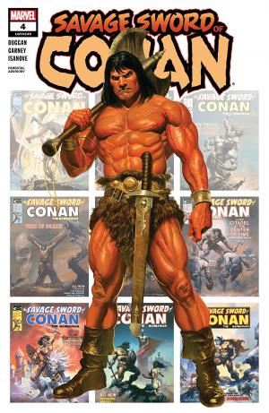 The Savage Sword of Conan # 4 Savage Sword of Conan - Issues (2019 - Ongoing)