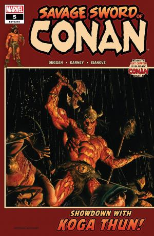 The Savage Sword of Conan # 5 Savage Sword of Conan - Issues (2019 - Ongoing)