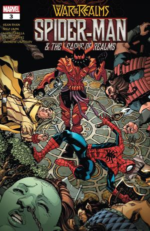 Spider-Man And The League of Realms # 3 Issues (2019)