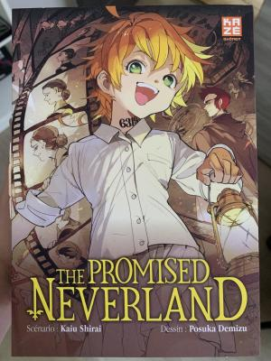 The promised Neverland - Coffret roman + Tome 9  simple