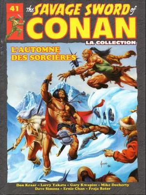 The Savage Sword of Conan # 41