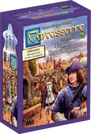 Carcassonne : Comte, Roi & Brigand édition simple