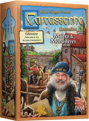 Carcassonne : Maire & Monastères édition simple